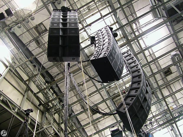 Sound reinforcement system is the combination of microphones, signal processors, amplifiers, and loudspeakers in enclosures all controlled by a mixing console that makes live or pre-recorded sounds louder and may also distribute those sounds to a larger or more distant audience.